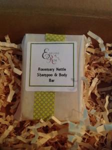 Elegant Rose - Rosemary Nettle Shampoo Bar