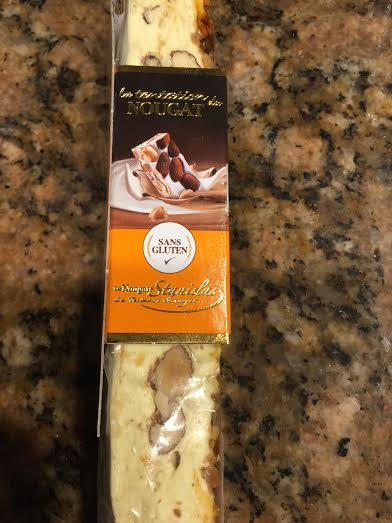 Confiserie Stanislas - Nougat Bar (Creme Brulee) Side View