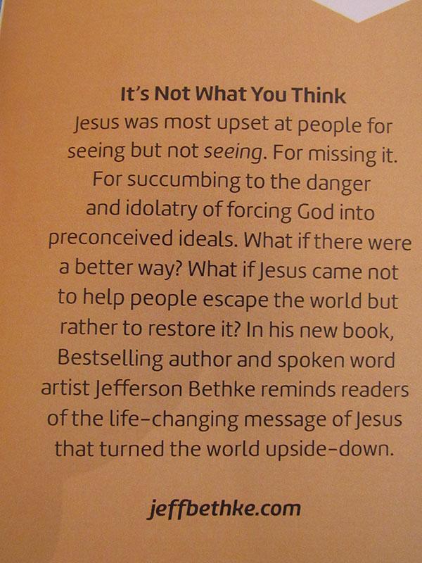 Faithbox's Description of Jefferson Bethke's book
