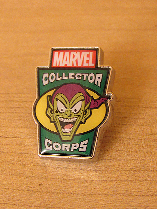 Green Goblin Pin