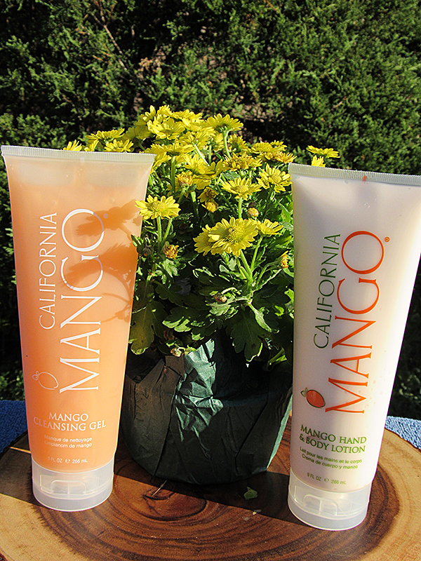 California Mango Cleansing Gel and Body Lotion