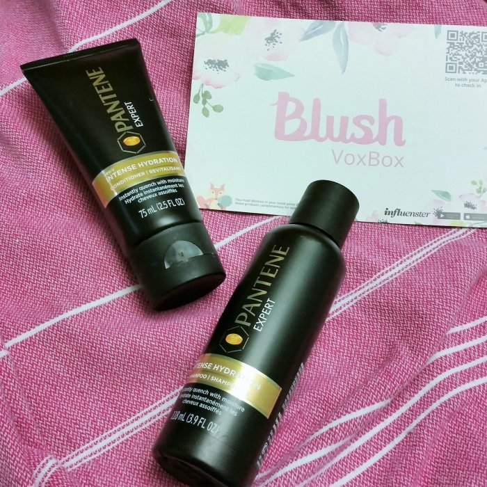 Influenster VoxBox Blush Box June 2016