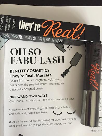 e4a2c08e83a Benefit They're Real Mascara – Believe it or not, this beauty box addict  has never gotten this mascara before! And I never mind getting mascaras to  add to ...