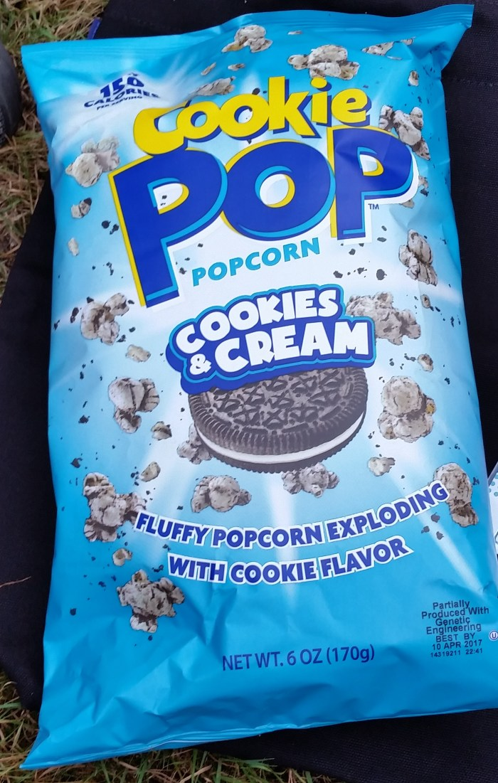 cookie pop popcorn oreo