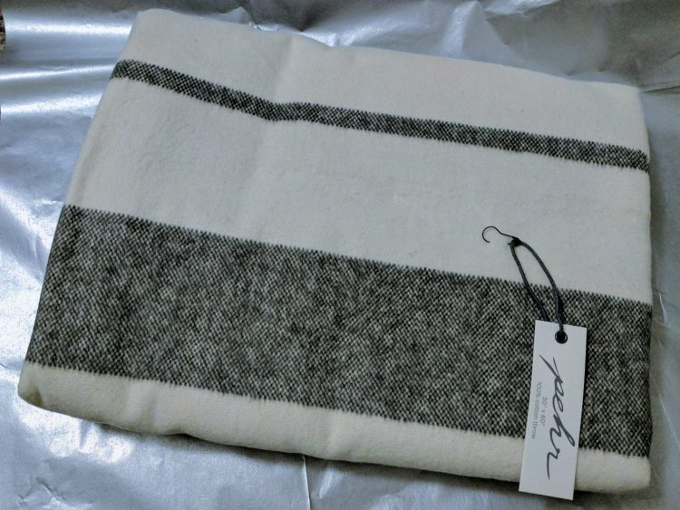 Charcoal Muskoka Throw by pehr