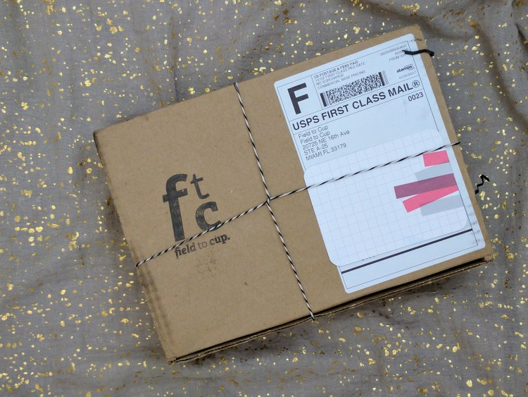 Field to Cup February 2017 subscription box review