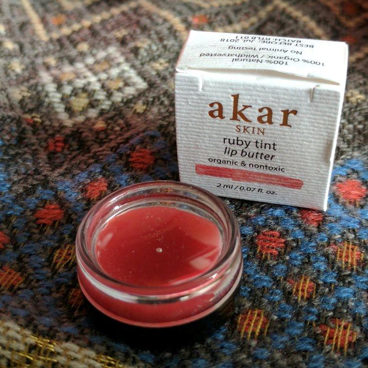 allure march 2017 akar skin ruby tint lip butter