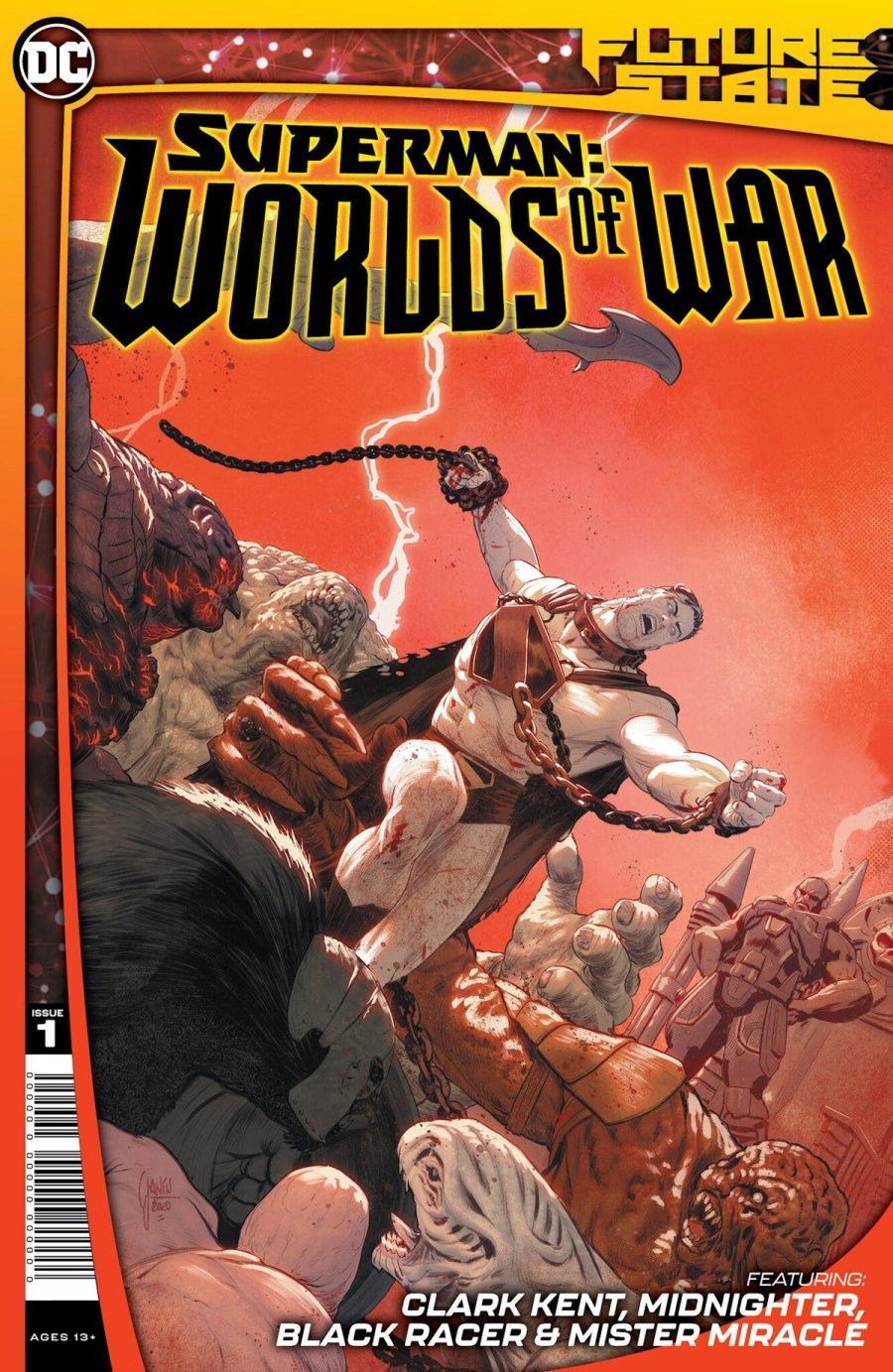 Future State: Superman Worlds At War #1 - The Aspiring Kryptonian
