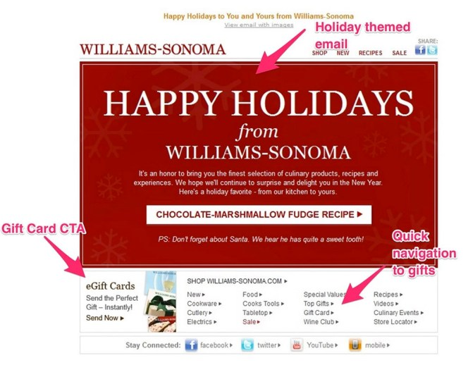williams-sonoma holiday