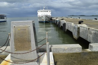 RORO ship to Leyte