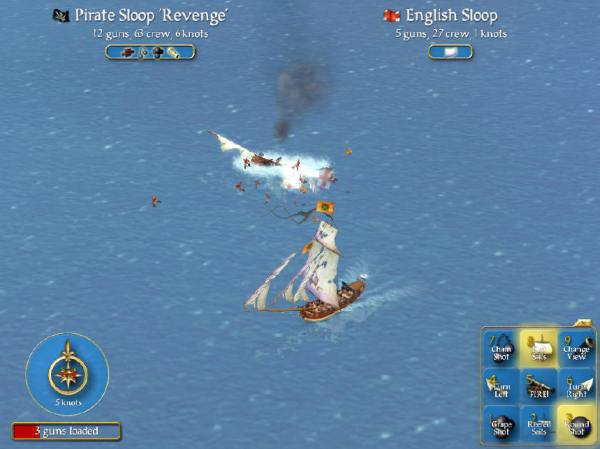 pirate ship battle game # 32