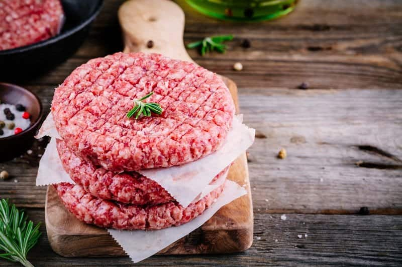 how to defrost ground beef in microwave