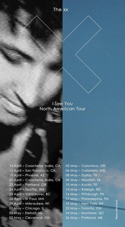 xx tour dates