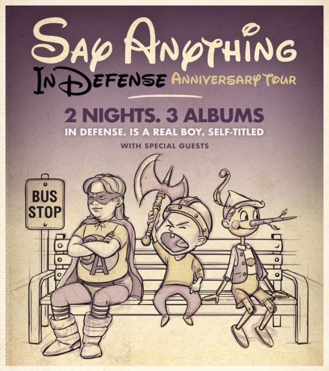 say anything defense tour