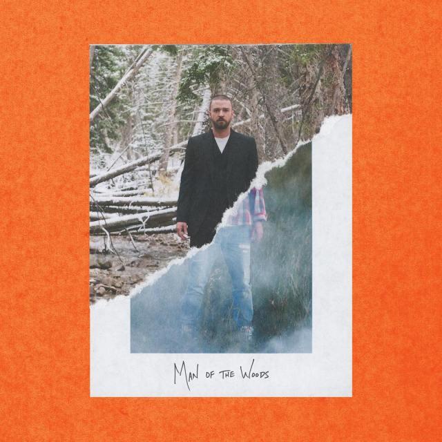 "Justin Timberlake ""Man Of The Woods"" artwork"