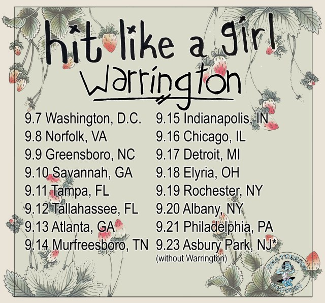 hit like a girl tour