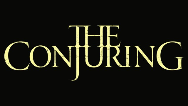 the conjuring title card