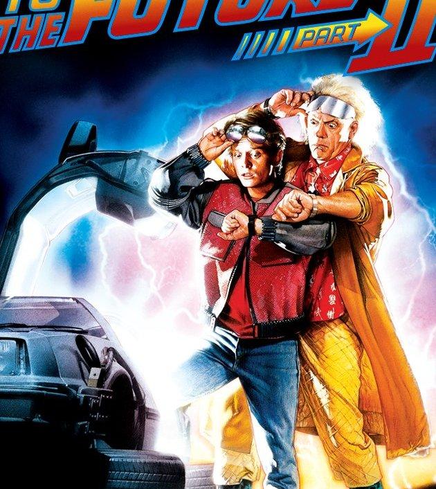 Back to the Future Part II (1989) : เจาะเวลาหาอดีต ภาค 2