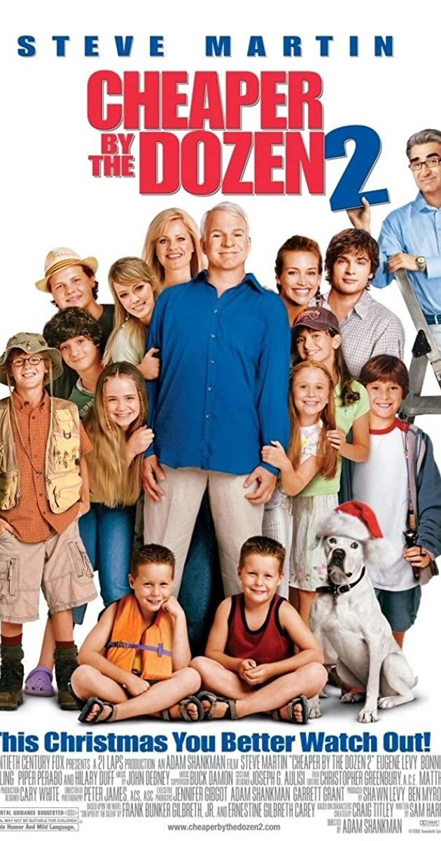 Cheaper by the Dozen 2 (2005): ครอบครัวเหมายกโหลถูกกว่า 2