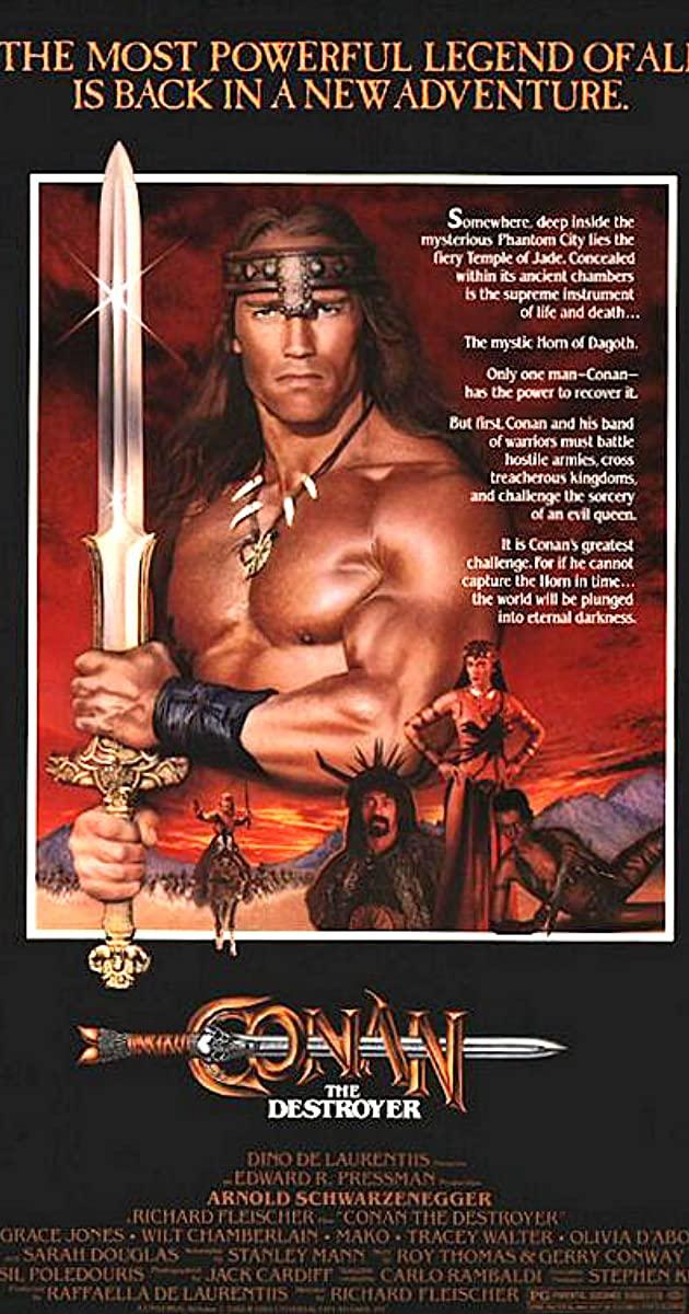 Conan the Destroyer (1984) :โคแนน ตอนถล่มวิหารเทพเจ้า
