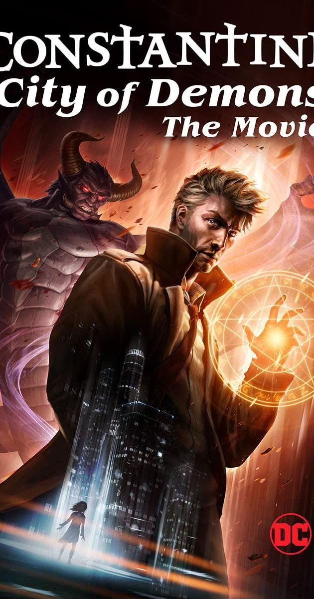 Constantine City of Demons: The Movie (2018): คอนสแตนติน นครแห่งปีศาจ เดอะมูฟวี่