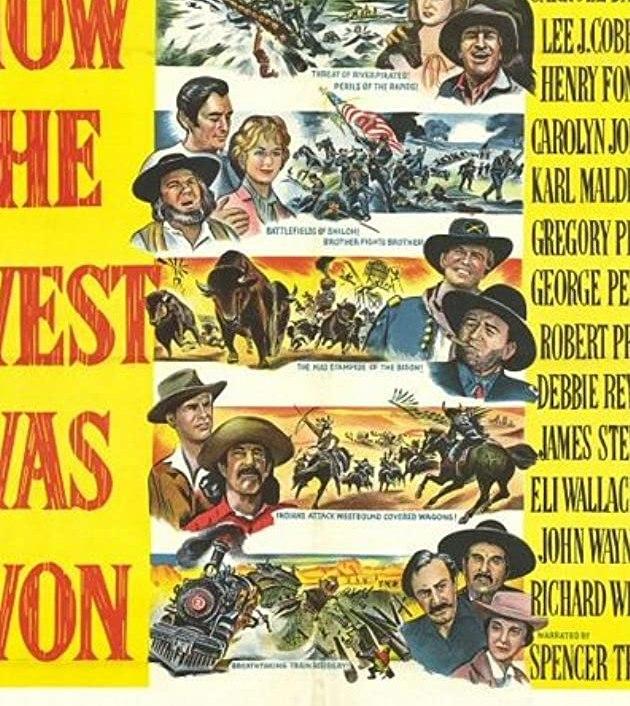 How the West Was Won (1962) :พิชิตตะวันตก