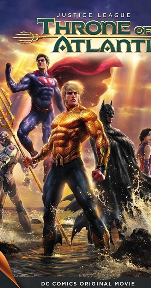 Justice League Throne of Atlantis (2015)