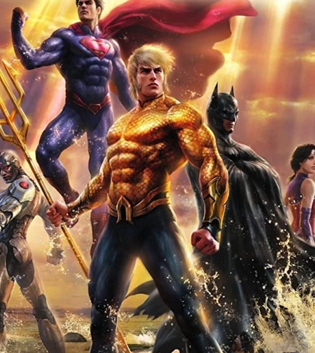 Justice League: Throne of Atlantis (2015): สติซ ลีก ศึกชิงบัลลังก์เจ้าสมุทร