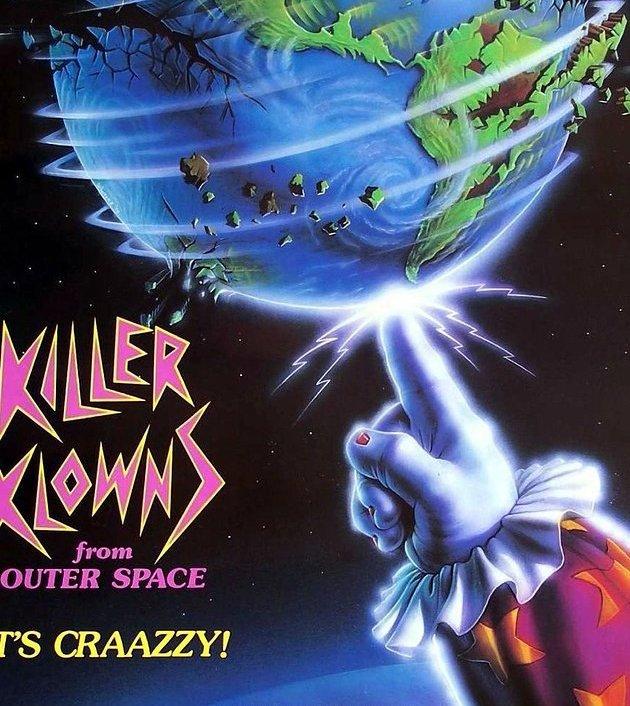 Killer Klowns from Outer Space (1988): ปีศาจสยอง ตัวตลกโหดจากนอกโลก