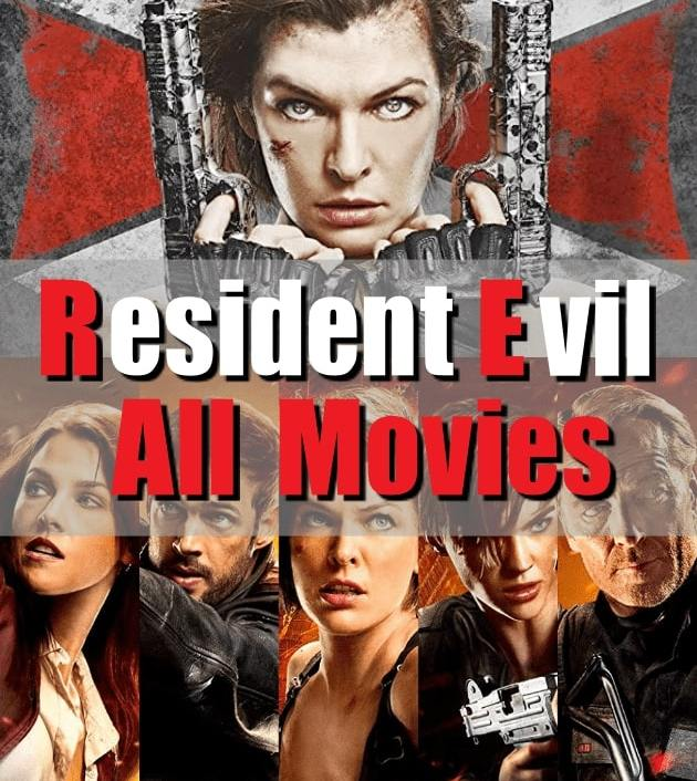 Resident Evil All Movies ผีชีวะ ทุกภาค