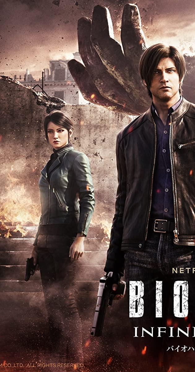 Resident Evil Infinite Darkness TV Series 2021