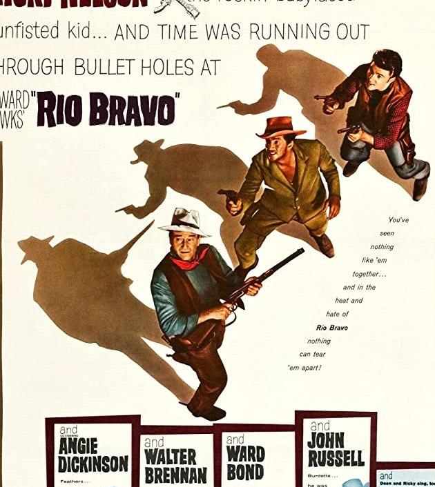 Rio Bravo (1959): ยอดนายอำเภอใจเพชร