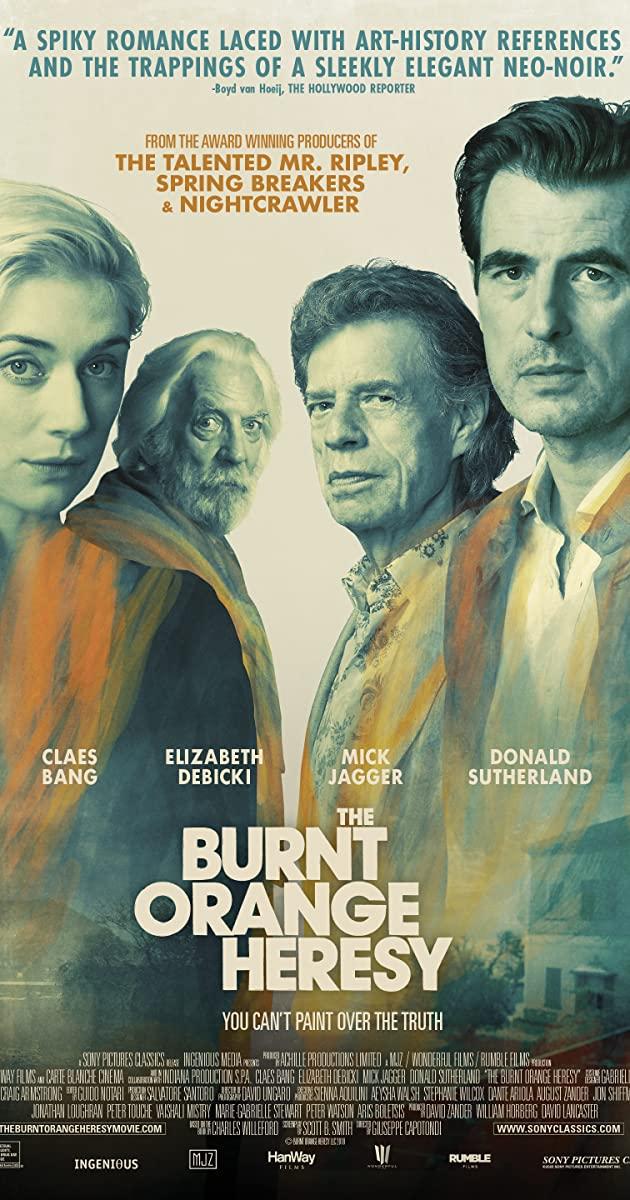 The Burnt Orange Heresy (2019): หลุมพรางแห่งความหลงใหล