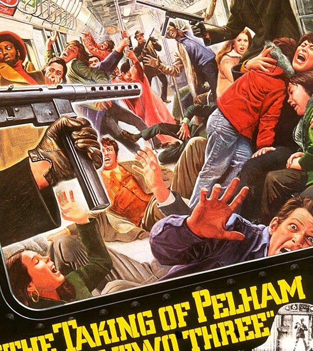 The Taking of Pelham One Two Three (1974) : ปล้นนรก รถด่วนขบวน 123