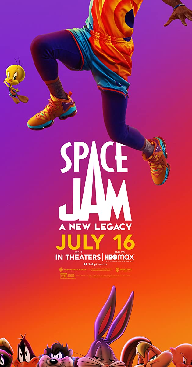 Space Jam A New Legacy (2021)
