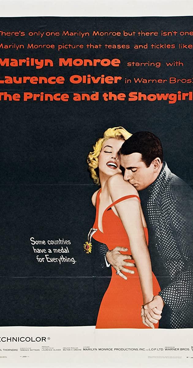 The Prince and the Showgirl (1957): สัปดาห์ของฉันกับมาริลีน