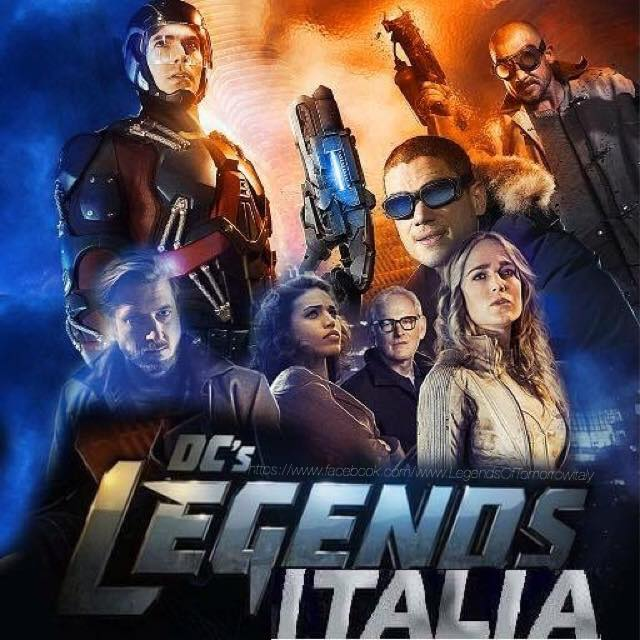 DC's Legends Of Tomorrow Italia