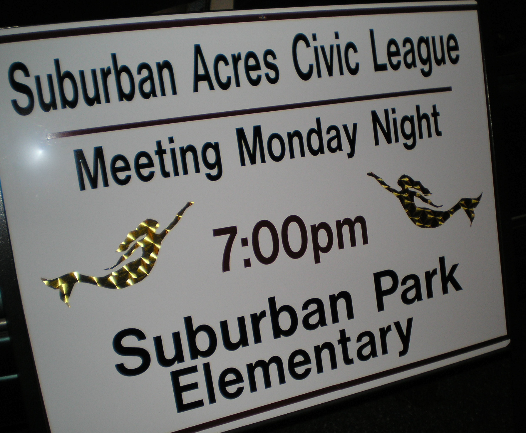 SACL Meeting Sign