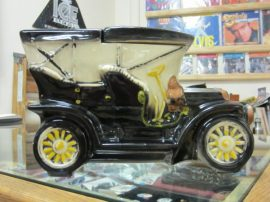 Mc Coy Turing Car Cookie Jar ( Marked )