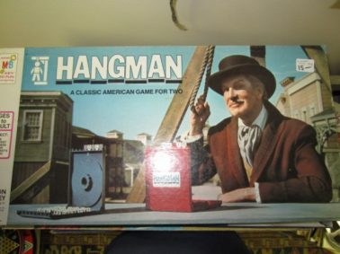 Vintage Hangman Game With Vincent Price Cover