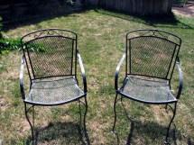 Metal Patio Furniture Chairs