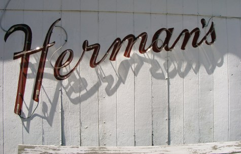 Herman's, a great rib and steak house in Fayetteville.