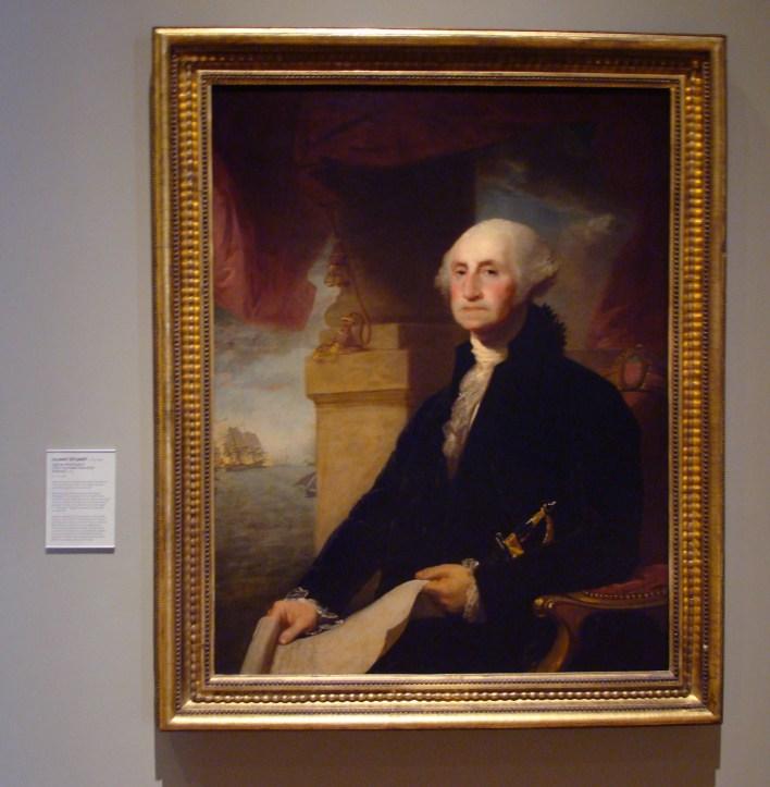 George Washington by John Gilbert Stuart