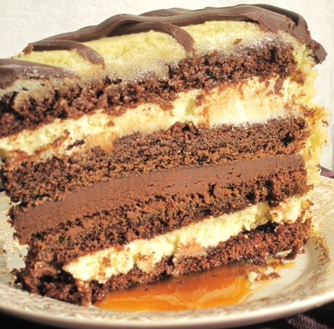 Bailey S Caramel Cream Cake Recipe