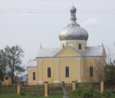 commemorative tribute - Ukrainian Church - Dobra, Poland