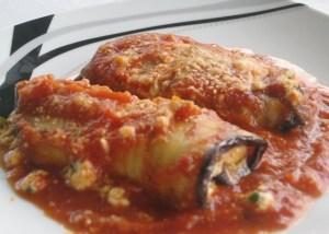 Eggplant Rollatini  - Serving