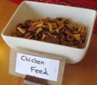 Trail Mix - as Chicken Feed