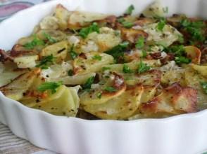 Potatoes  Au-Gratin