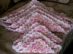 Baby blanket and Baby Doll blanket 2