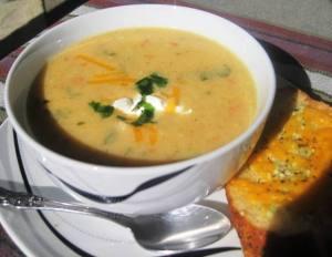Cream of Caulifower Soup 3